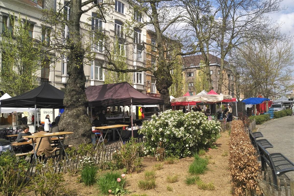 Brüssel Markt Chasseur Ardennais