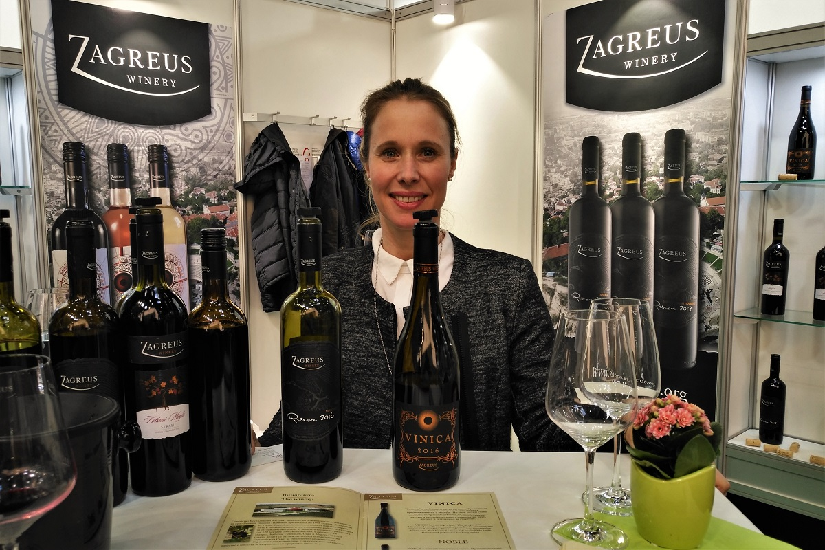 Bulgarien Wein Zagreus ProWein 2019
