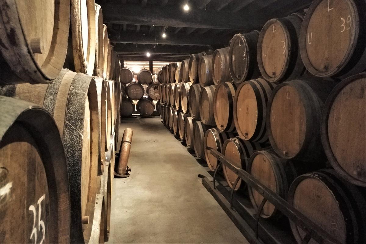 Brauerei Cantillon Lagerraum