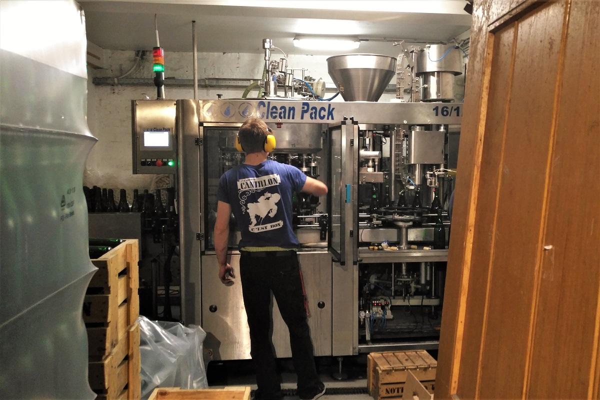Brauerei Cantillon Abfüllung