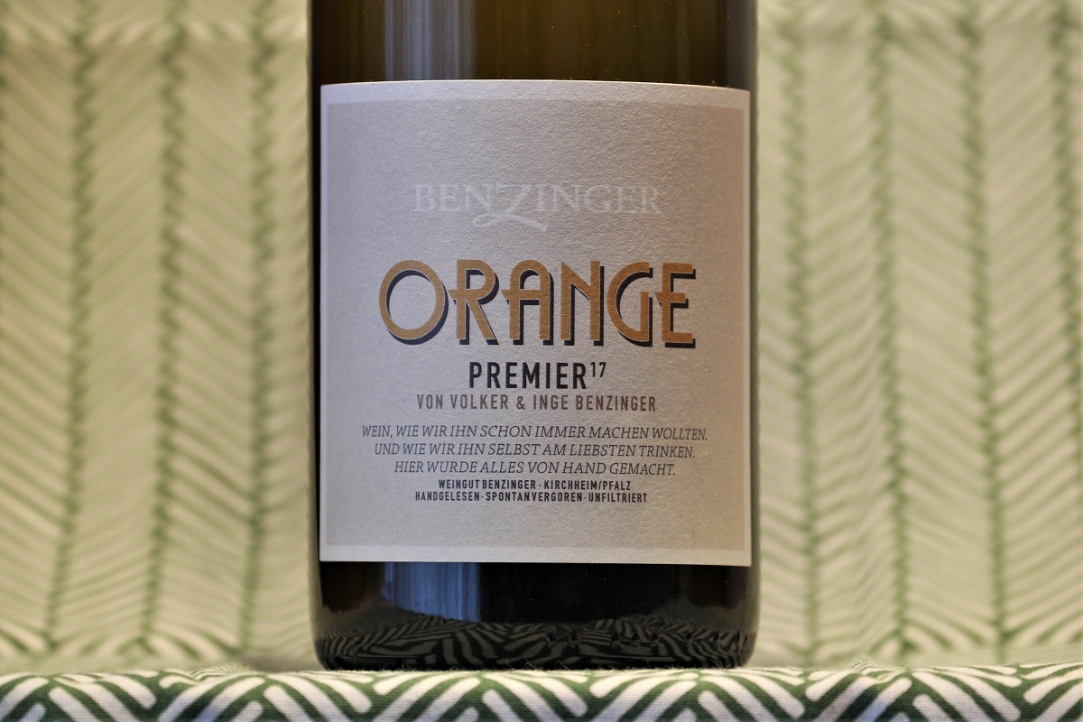 Orange Wine Benzinger