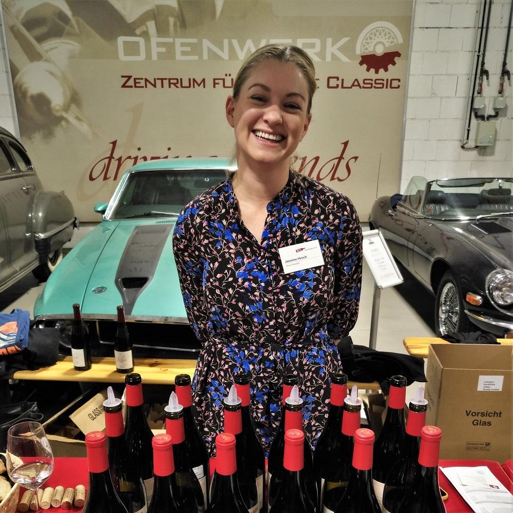 K&U Weinhalle Hausmesse Jasmine Hirsch