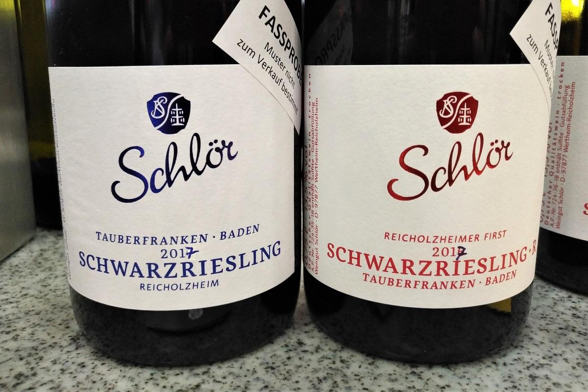 VDP Weinbörse Schwarzriesling Schlör