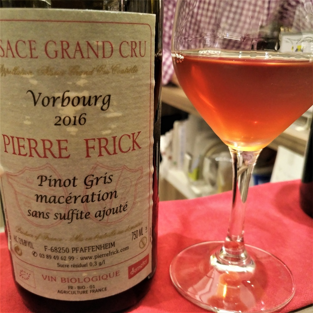 Orange Wine Pierre Frick
