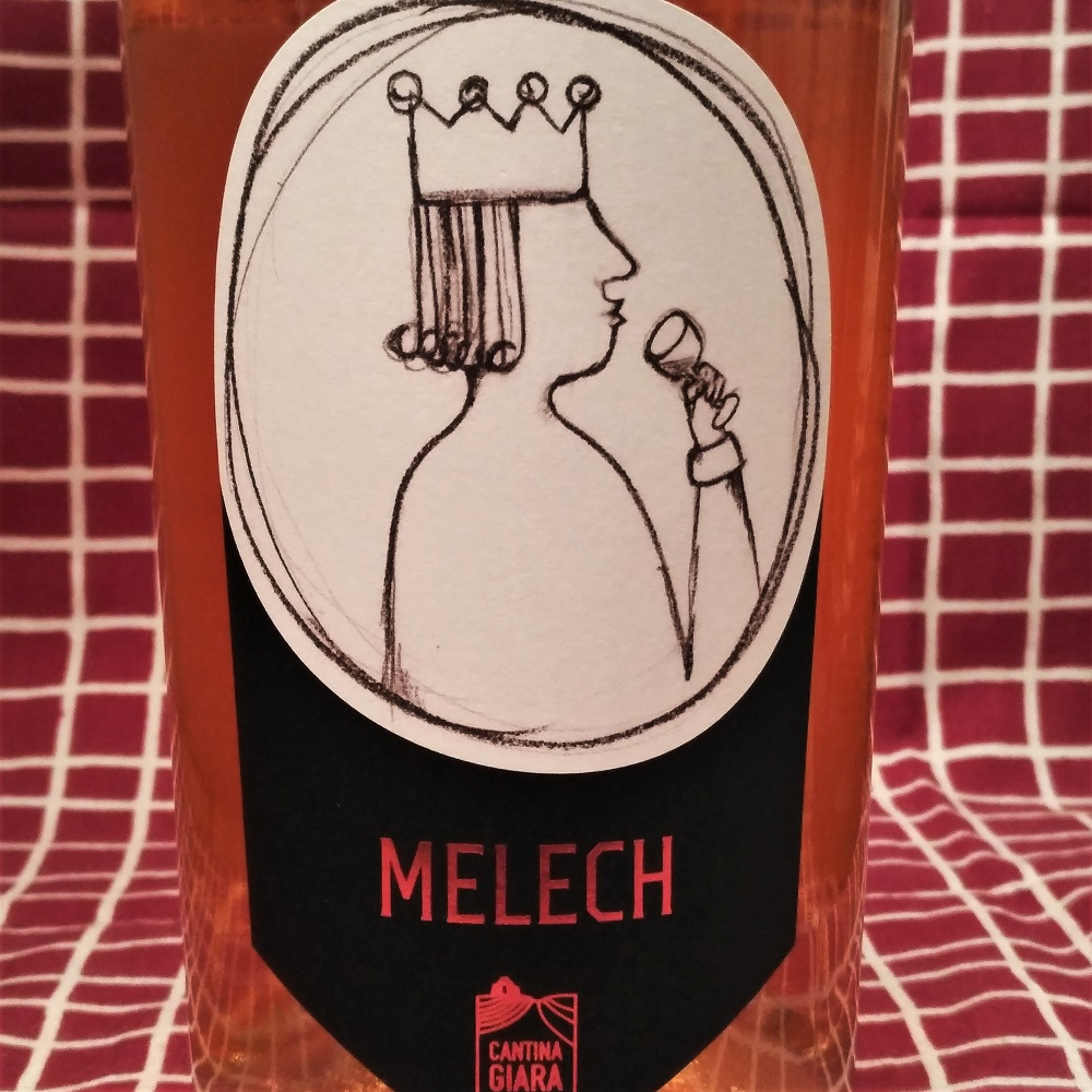 Orange Wine Melech Cantina Giara
