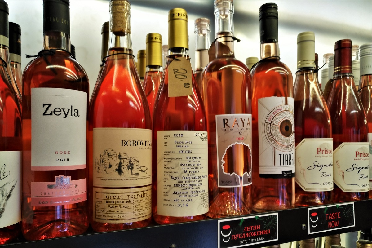 Shopping Guide Wein Sofia Plovdiv Rosé