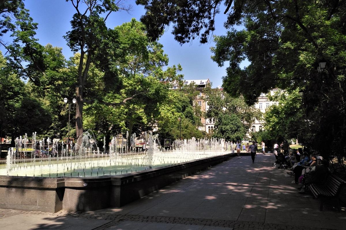 Sofia Schatten und Parks
