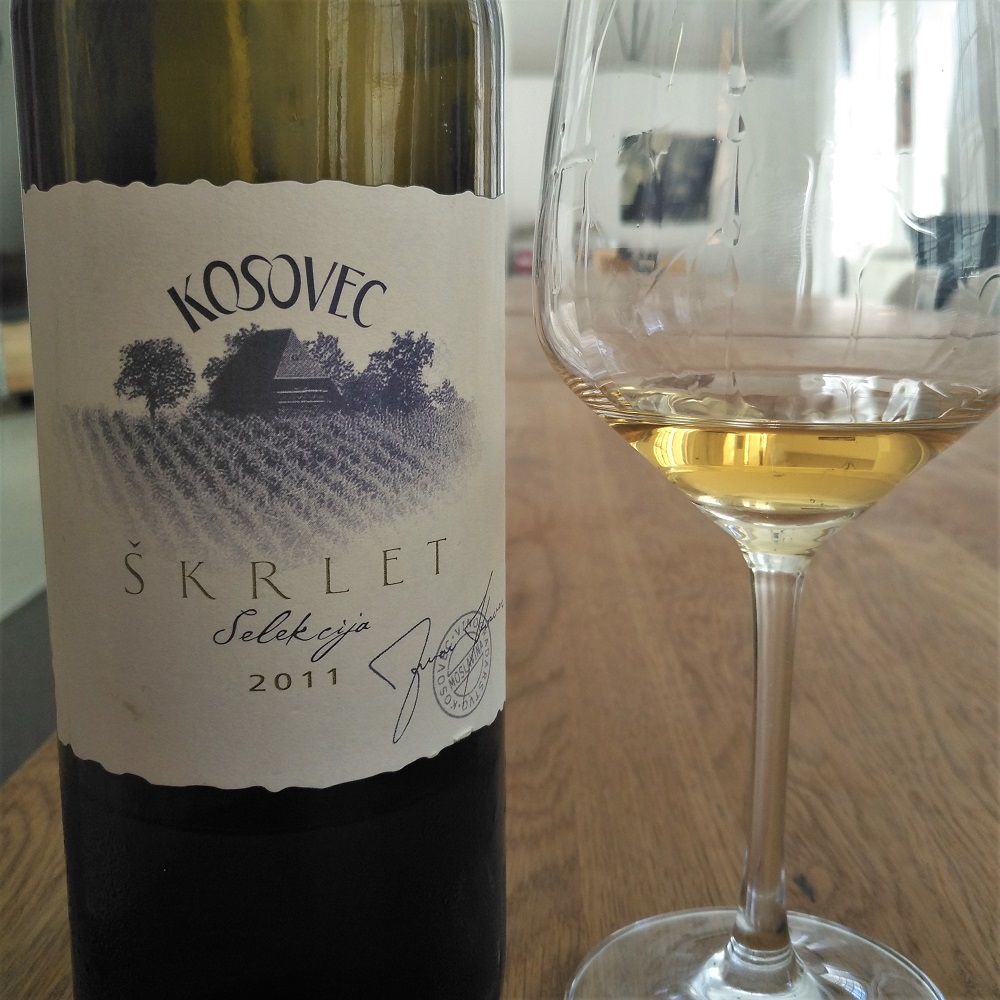 Wein Kroatien Kosovec Skrlet