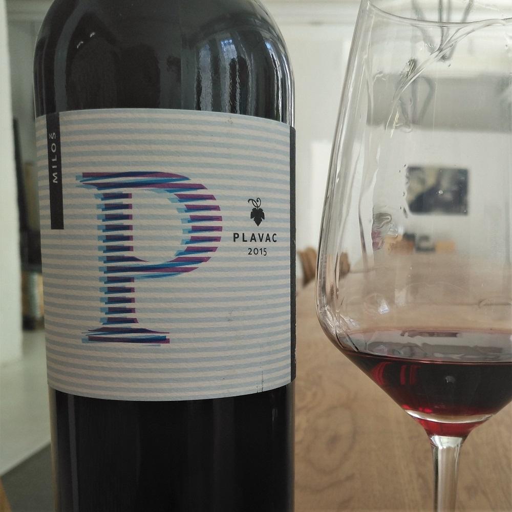 Wein Kroatien Milos Plavac