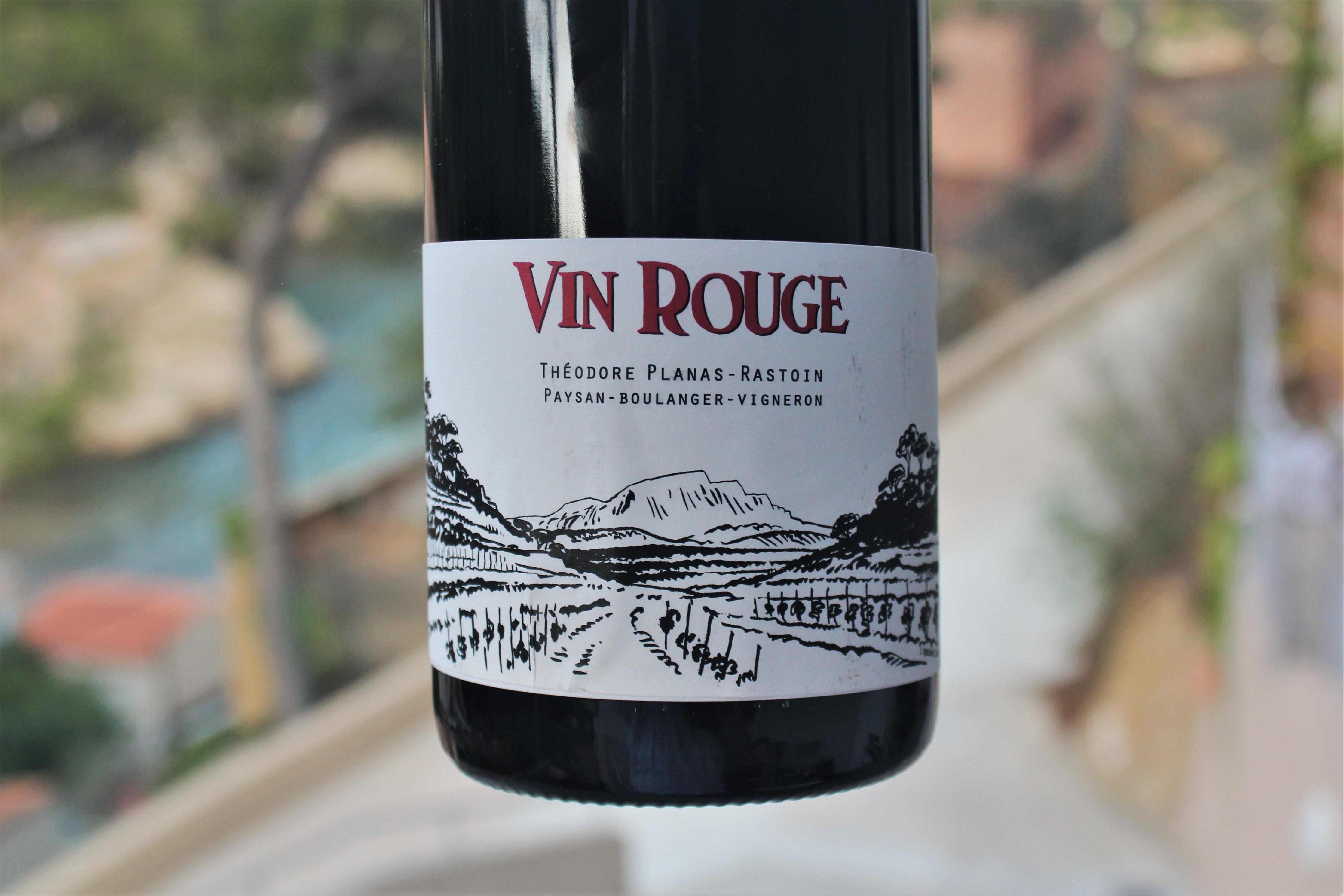 Théodore Planas-Rastoin Vin Rouge