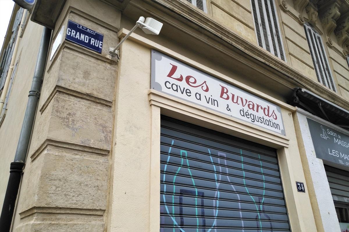 Marseille Les Buvards vin naturel