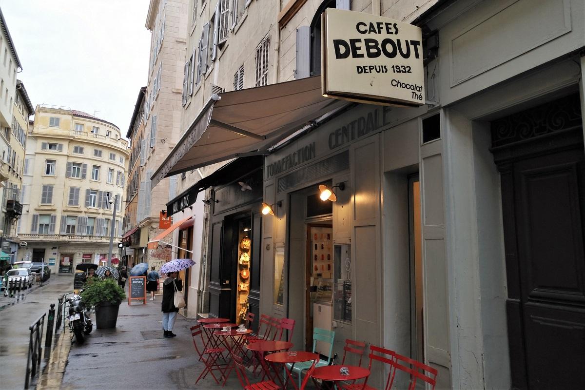 Marseille Cafés Debout