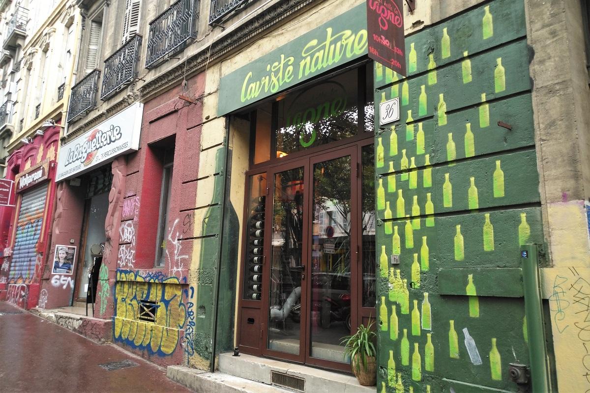 Marseille Plus Belle la Vigne vin naturel