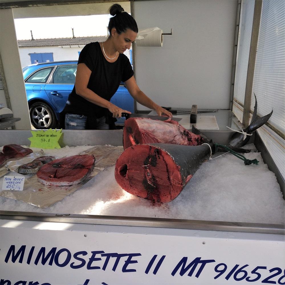 Fischmarkt Carro Thunfisch