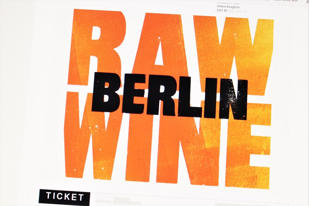 RAW WINE Berlin Ticket 2019