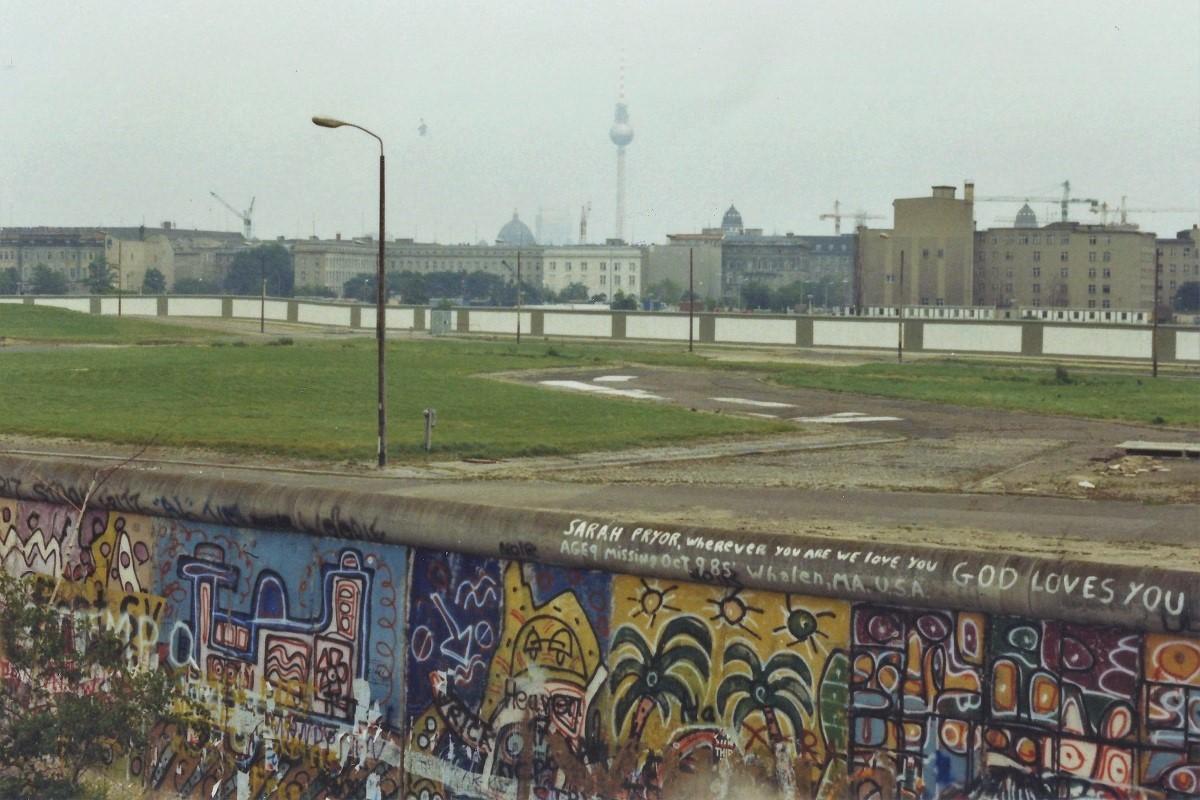 Berliner Mauer 80er Jahre