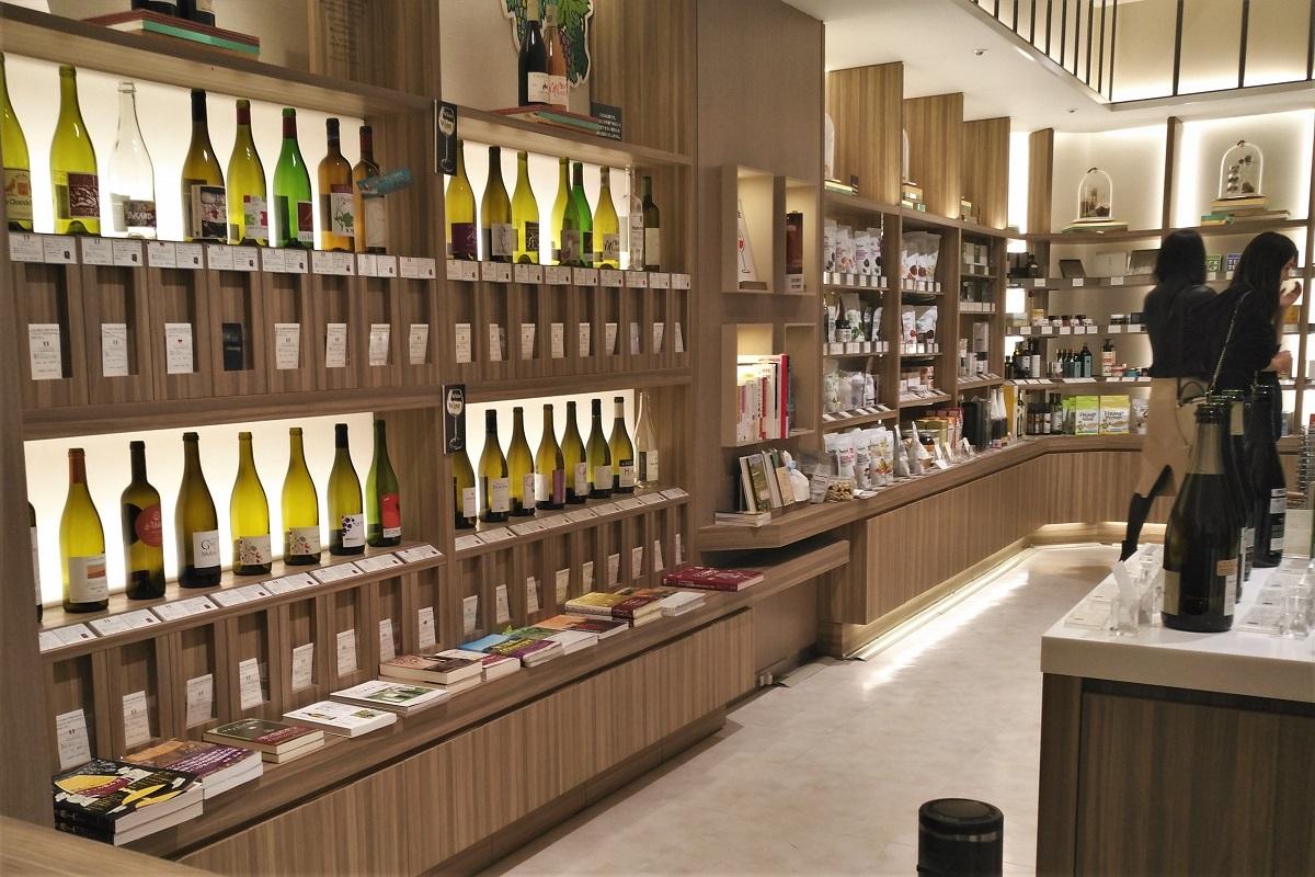 Weinbars Tokio Shop Festivin