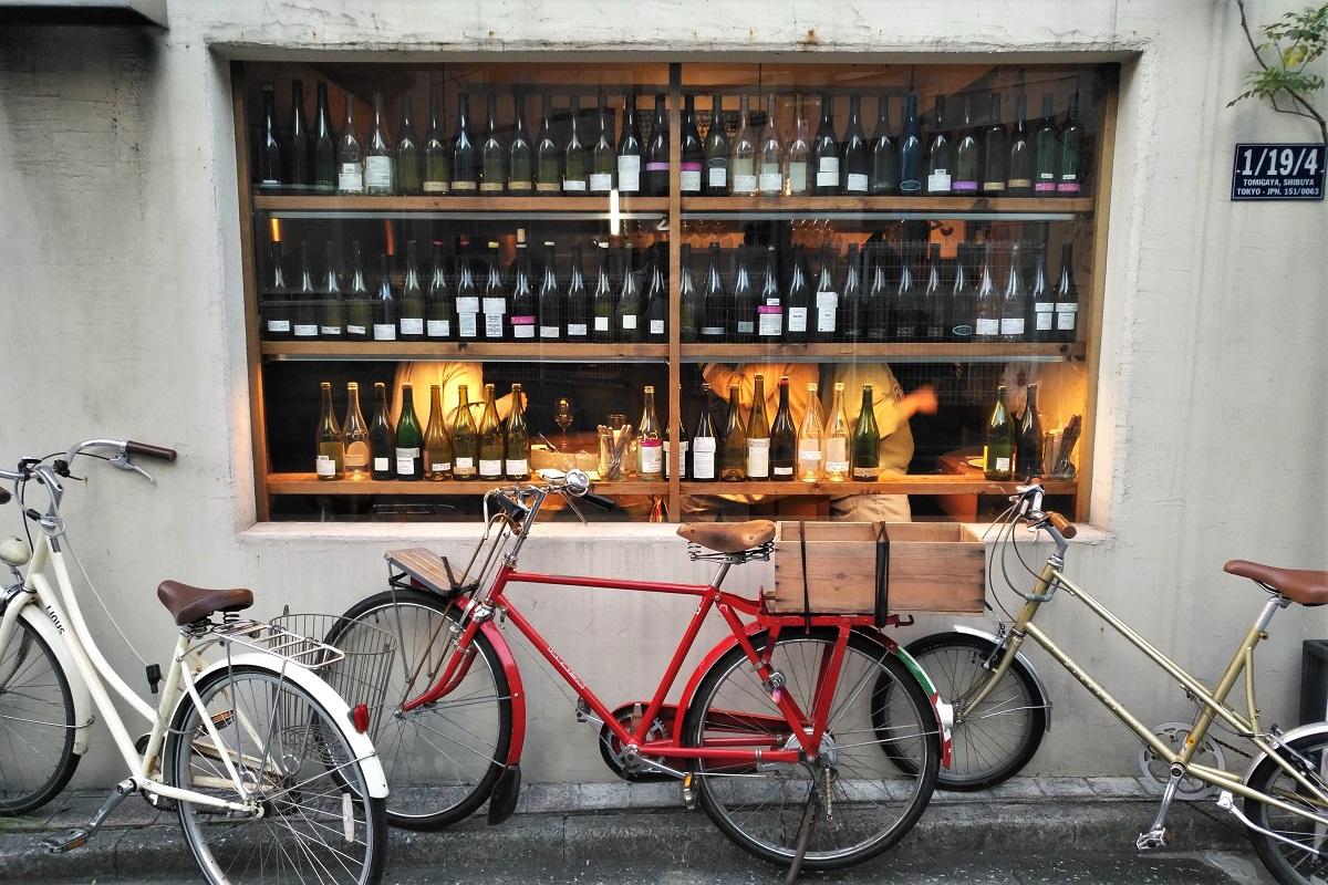 Weinbars Tokio Ahiru Store