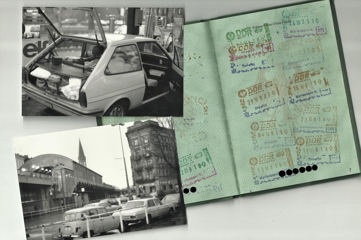 Berlin Transit DDR 1989
