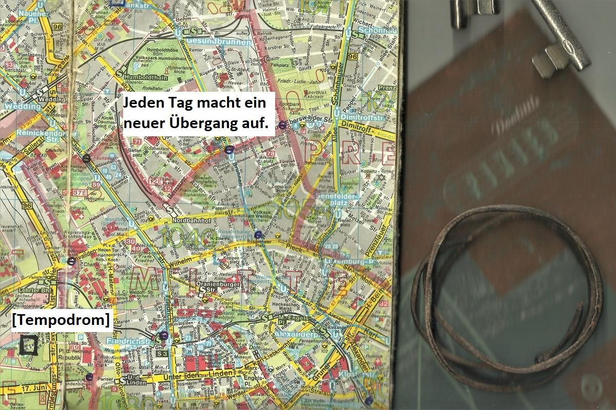 Berlin Mauer Neue Übergänge 1990
