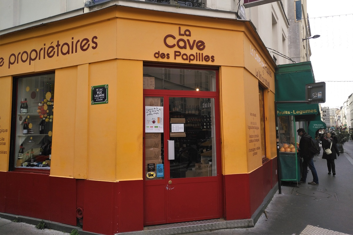 La cave des Papilles Paris