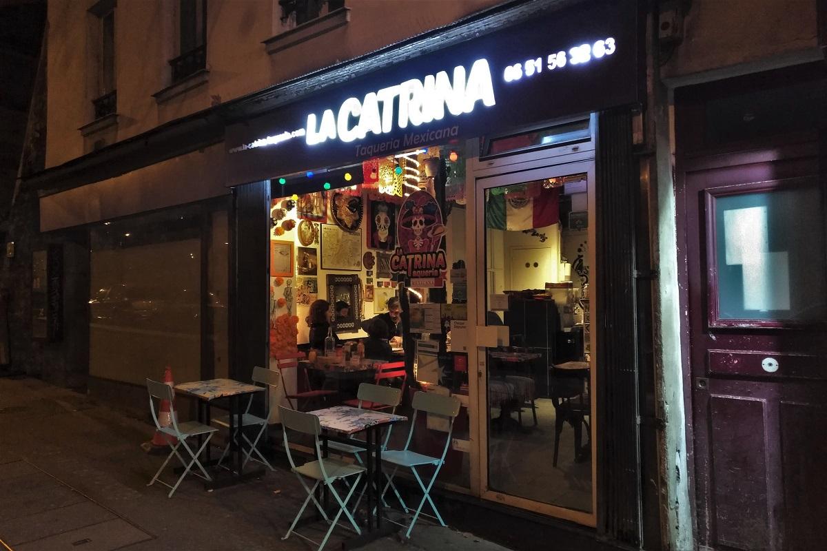 Paris Restaurant La Catrina