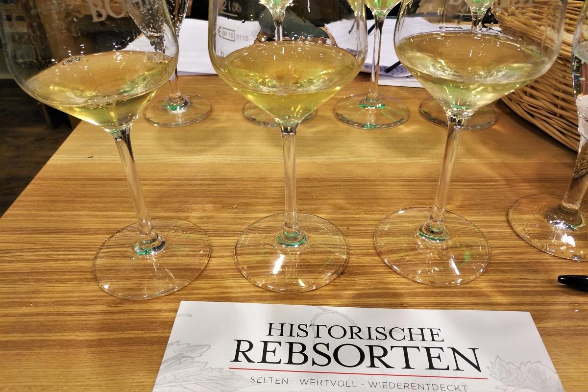 Weißweine, Historische Rebsorten