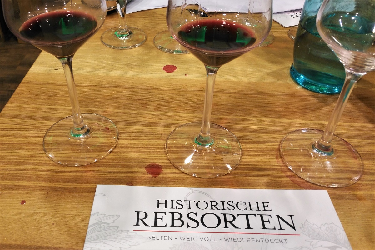 Rotweine, Historische Rebsorten