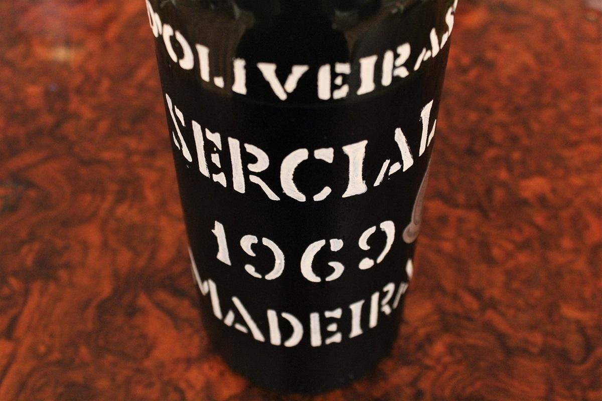 Madeira Sercial 1969 d'Oliveiras
