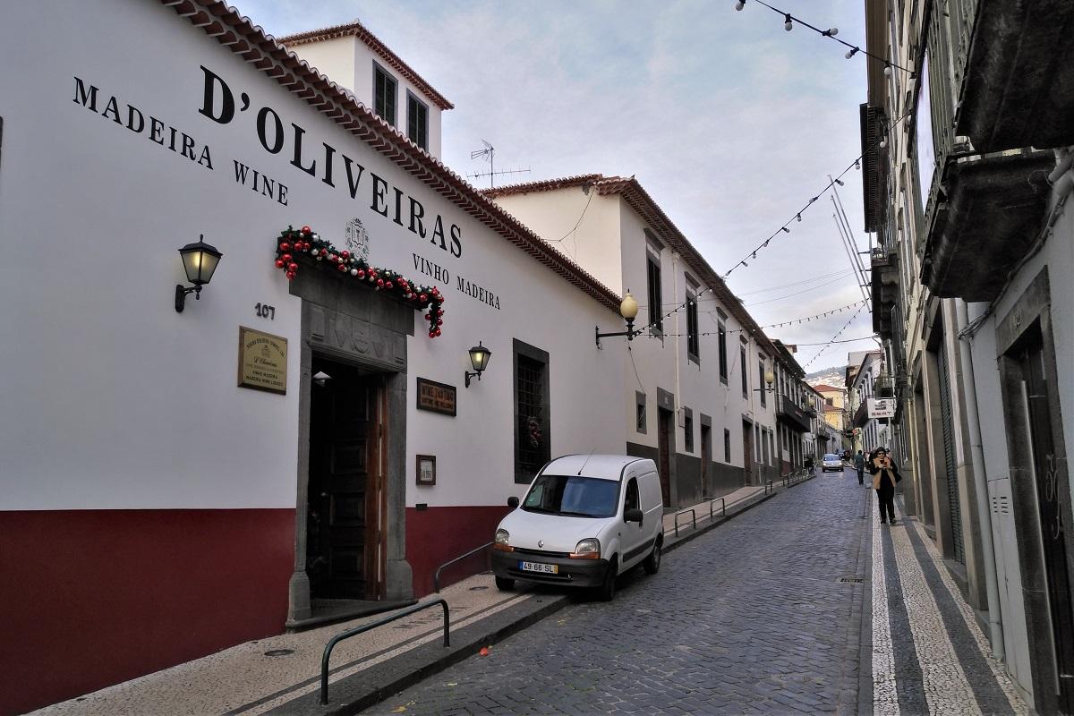 Funchal Madeira d'Oliveiras