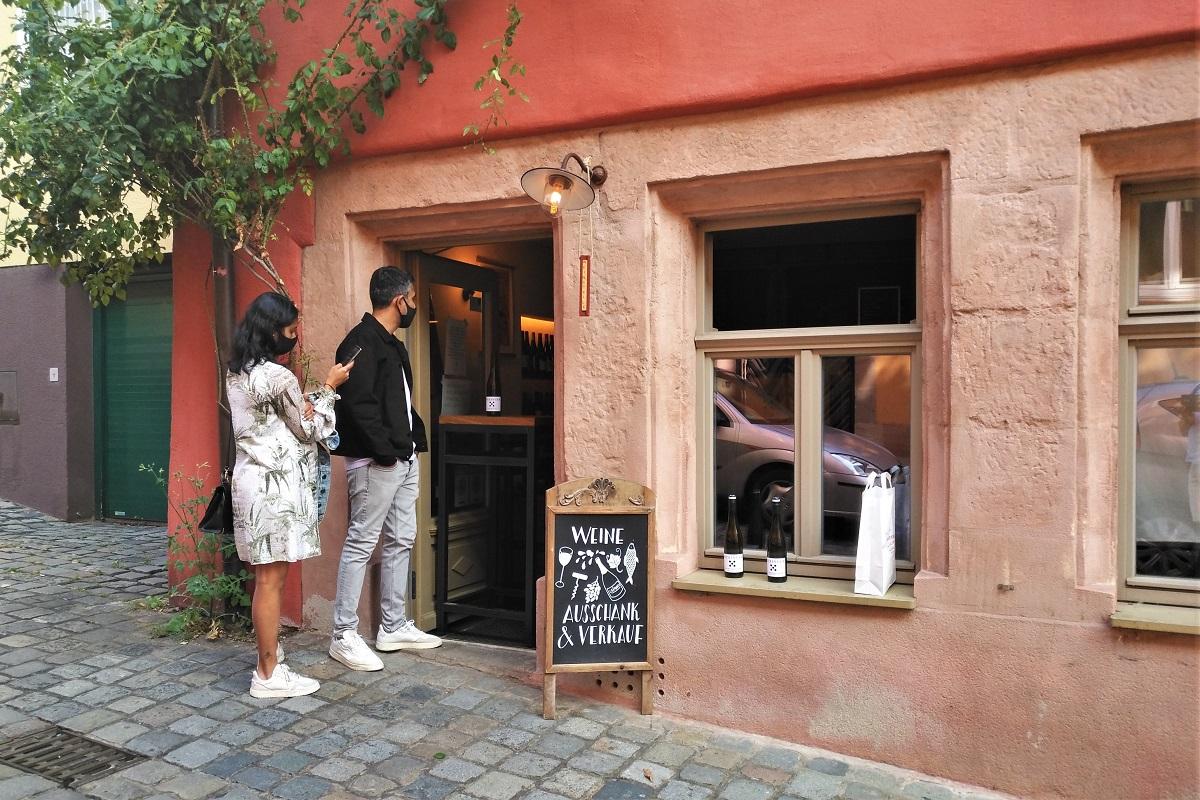 Weinstelle Nürnberg Weinverkauf