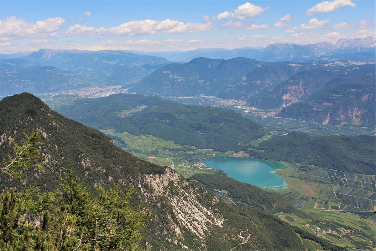 Südtirol Blick vom Roen