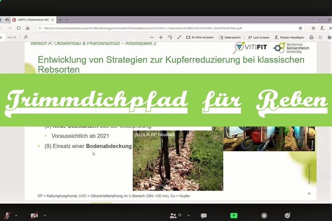 Biofach 2021 Geisenheim