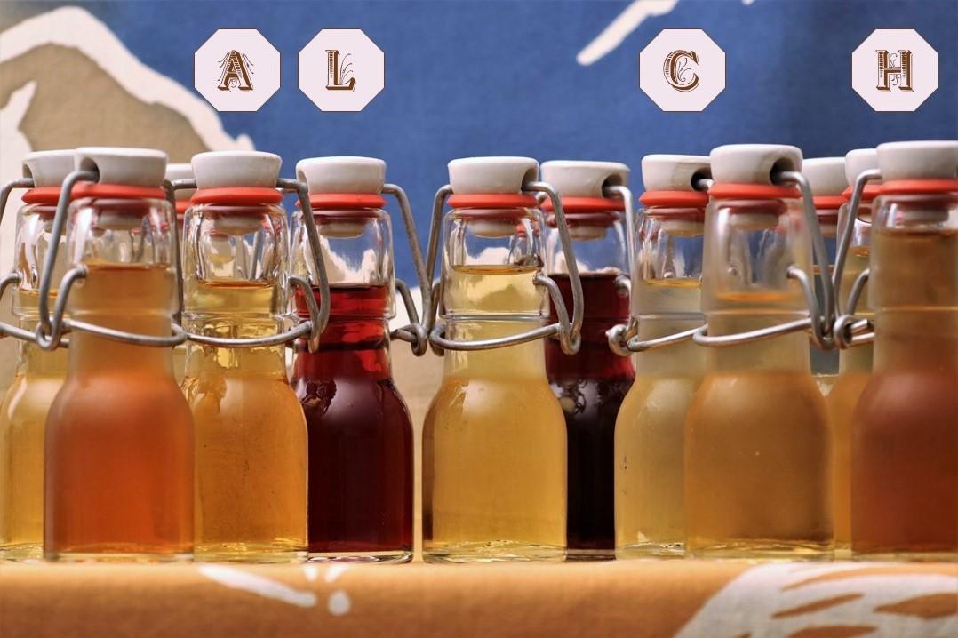 Elsass Natürlicher Dienstag Bottle-Party