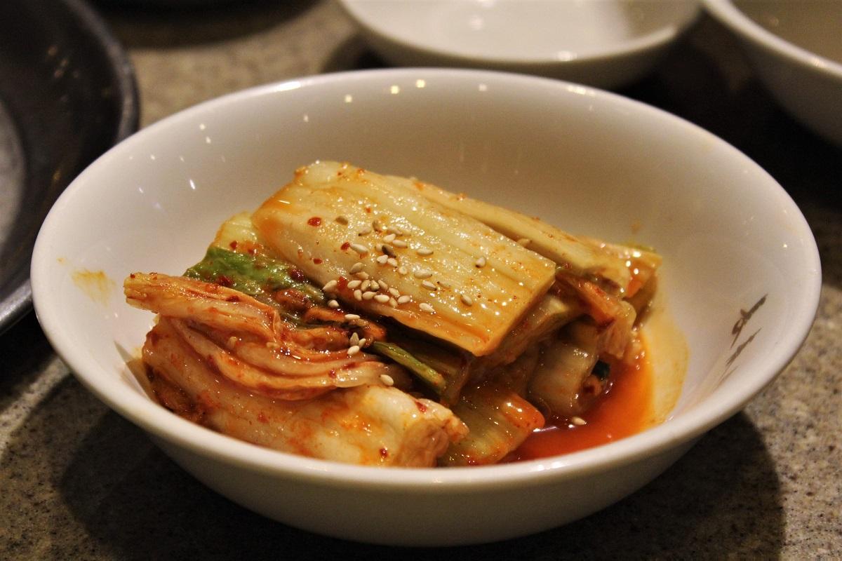 Kimchi asiatische Küche
