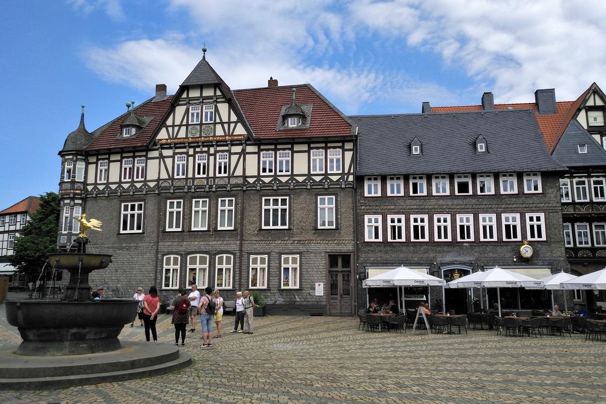 Goslar Marktplatz Westharz