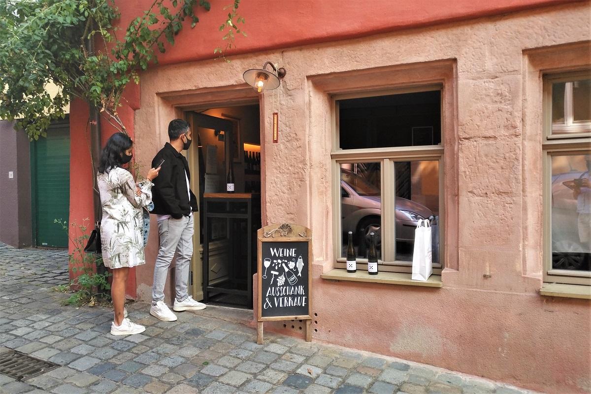 Weinstelle alt Nürnberg